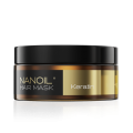 Nanoil, Keratin Hair Mask regenerująca maska do włosów z keratyną, 300 ml